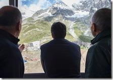 Matteo Renzi sul Monte Bianco