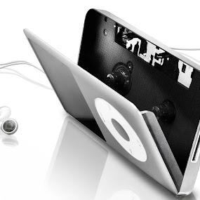 I-walkman by Paolo Tangari - Digital Art Things ( music, ipod, digital art, walkman, photoshop )