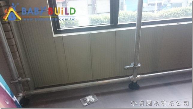 BabyBuild 牆面安全防撞板施工