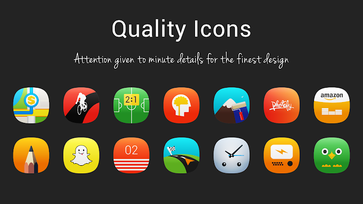 MeeUI Icon Pack Screenshot Image
