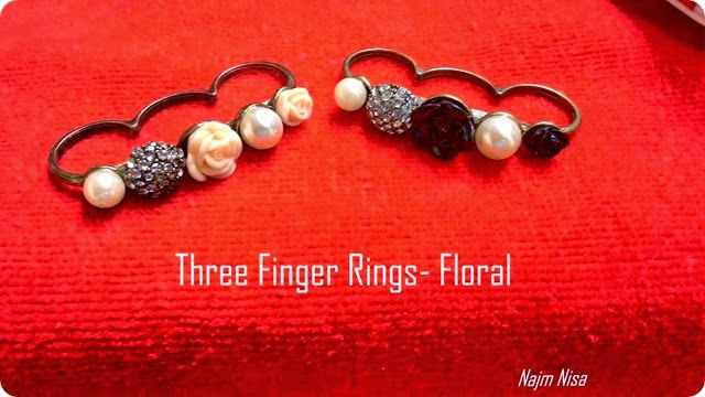 Three finger ring trend