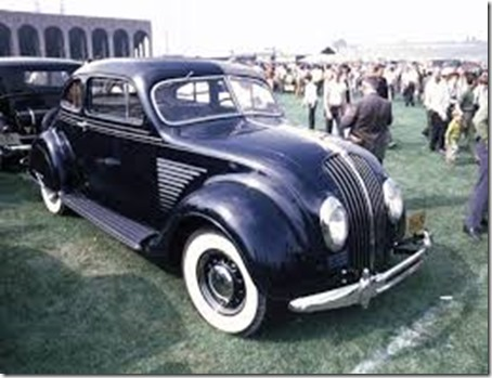 1934-DeSoto-Airflow-2-Door-Sedan-Black-fvr-35mm-Hershey-PA-1970 - Copy