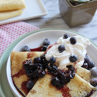 Blueberry Crepes Recipes