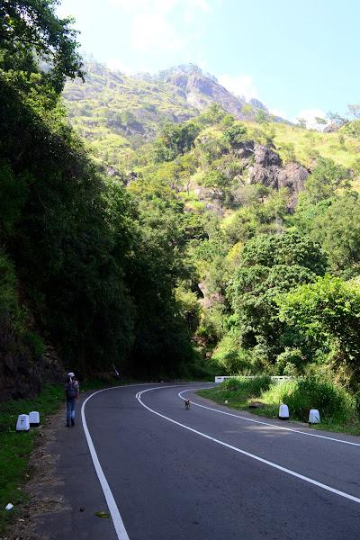 Серпантинные дороги, Шри Ланка