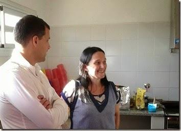 El intendente Juan Pablo de Jesús entregó un subsidio al Jardín de Infantes del barrio Villa Clelia