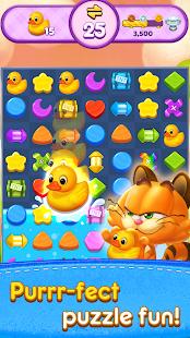 Magic Cat Match : Swipe & Blast Puzzle