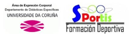 Facultad de Ciencias de la Educación (Universidad de A Coruña) que es quien organiza el Congreso junto a Sportis Formación Deportiva