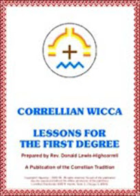 Cover of Anonymous's Book Correlian Wicca