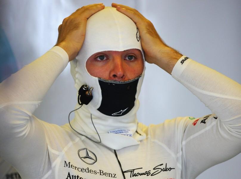фэйспалм Нико Росберга на Гран-при Венгрии 2011