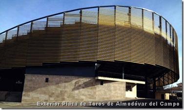 Exterior Plaza de Toros de Almodóvar del Campo