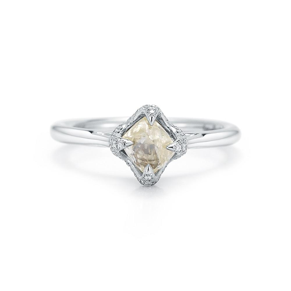 Signature Rough Diamond Engagement Ring 2D630-1.56 - Signature - Bridal