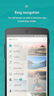 MiMedia - screenshot