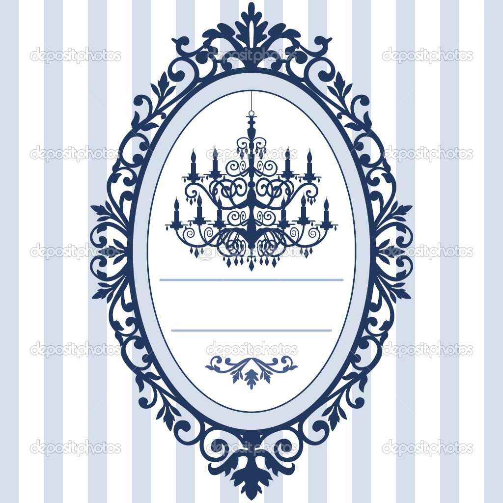 Design for wedding cards with