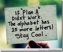 Plan A motivation