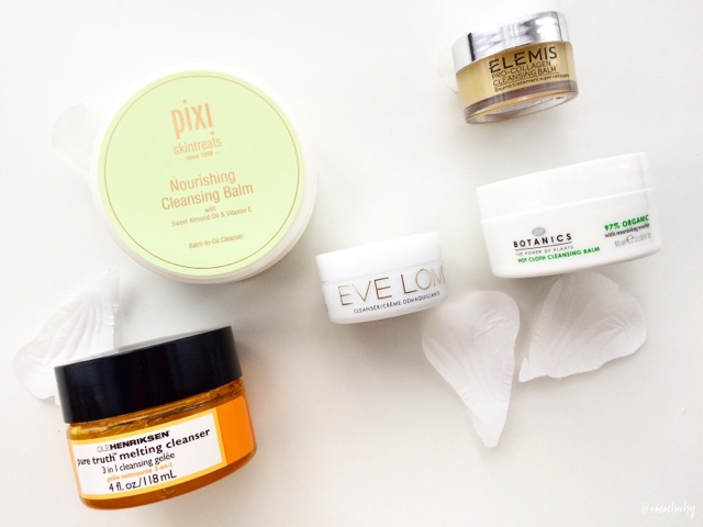battle of the cleansing balms, best top cleansing balms affordable high end skincare