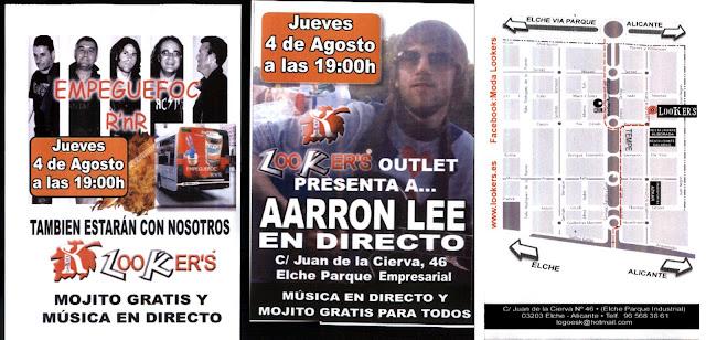cartel de la actuación de EmPegueFoc para el 4 de agosto de 2011