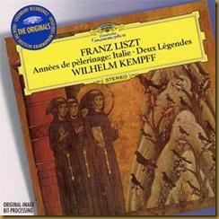 Kempff Liszt DG