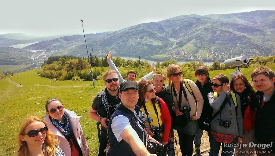 Blogerskie selfie na Górze Żar