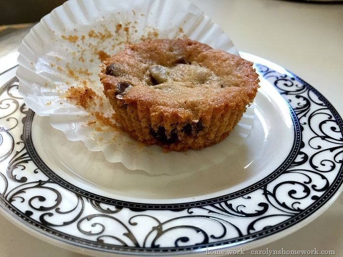 Cookies in a Muffin Cup via homework (5)