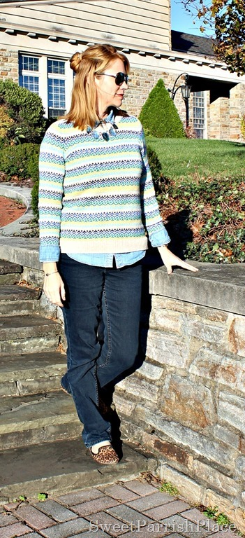 striped-sweater-jeans-leopard-flats-2