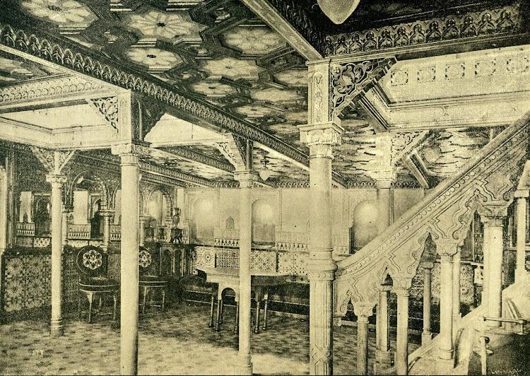 Interior del buque. La cámara. Revista de Navegación y Comercio. Año 1893.jpg