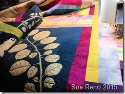 Sue Reno, Raccoon and Apple, WIP19