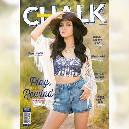 Nadine Lustre - Chalk May 2015