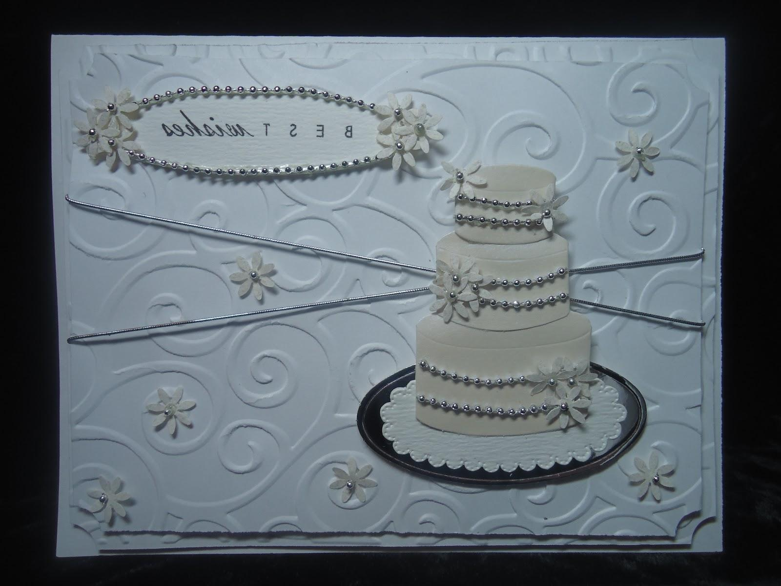 yet elegant wedding card!