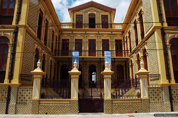 Palacete Pinho - Belém do Parà, fonte: Carlos Macapuna/Flikr