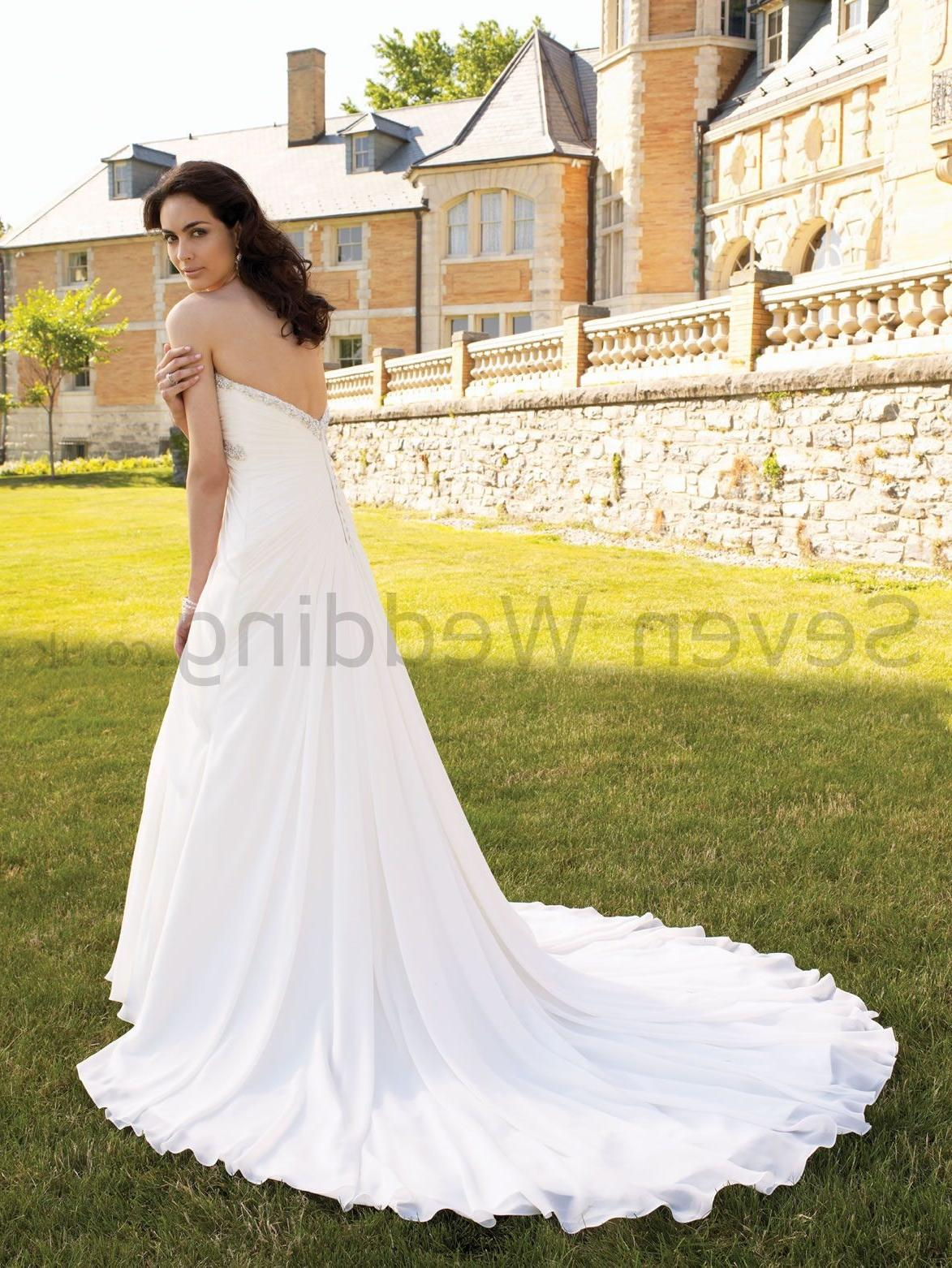 Draped Bodice Wedding