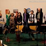 Artistas y guitarreros en la Inauguración de la Exposición de Guitarras, Materiales y Artística