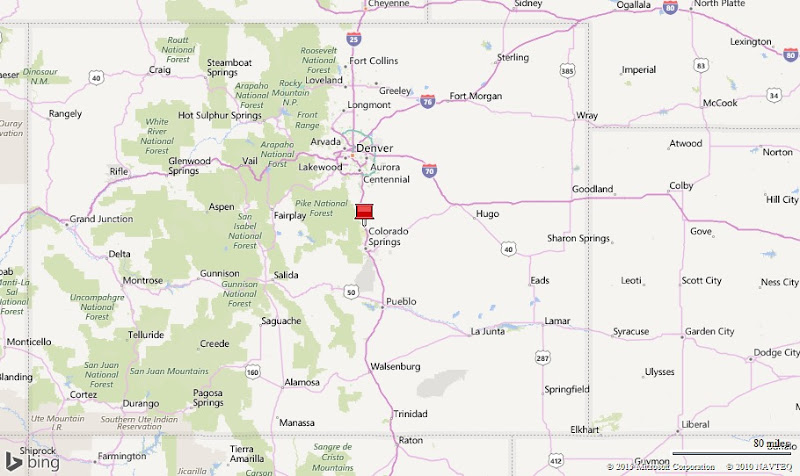 Air Force Academy Colorado CO Profile Population Maps - Air force academy map