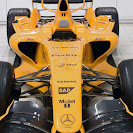 McLaren MP4-21 in orange color