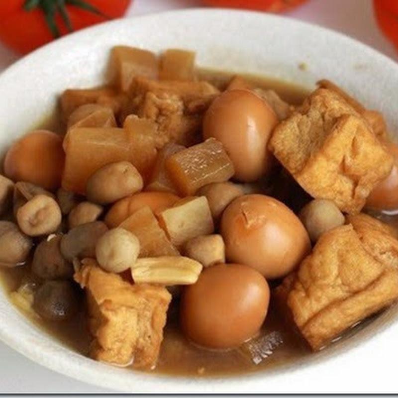 Đậu hũ kho nước dừa – Ngọc Nhi
