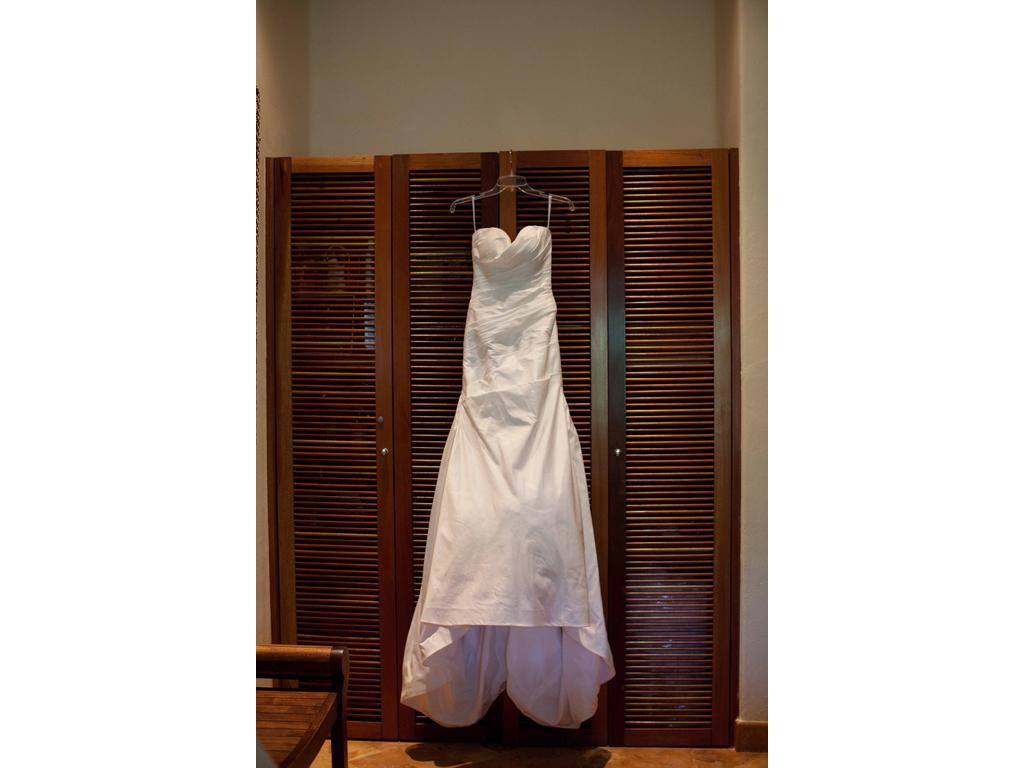 lazaro trumpet wedding gown