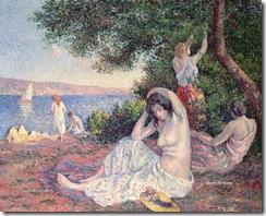 780 Maximilien Luce - 25 Women Bathing_zpsvekgcomw