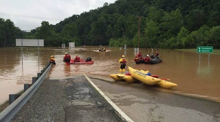 Image of Deaths Increases as Massive Floods Hit West Virginia, USA