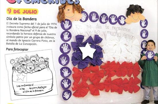 bandera chile activdiades