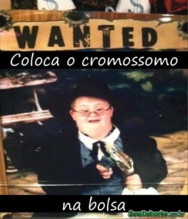 HUMOR NEGRO #47 - PASSO O CROMOSSOMO