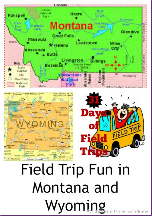 Wyoming and Montana Field Trips
