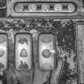 A Nickle and a Prayer by Norman Stephens - Artistic Objects Antiques ( antique slot machine nickle mills,  )