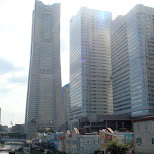 landmark tower in Yokohama, Tokyo, Japan