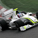 Brawn GP BGP001 right front