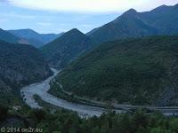 Vom Col de Saint Raphael (876 m) wieder zurück im Tal der Var.