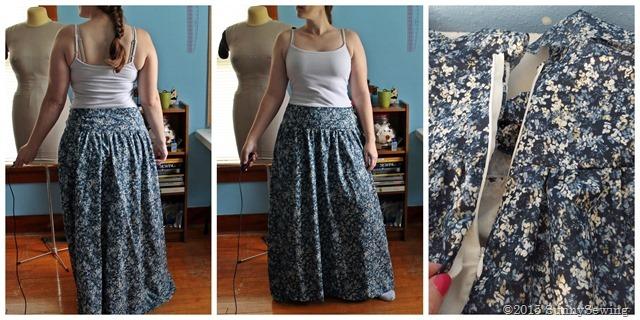collage challenge 1 old skirt