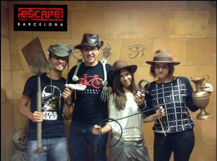 Escape Room Blog  Cuatro Barcelona