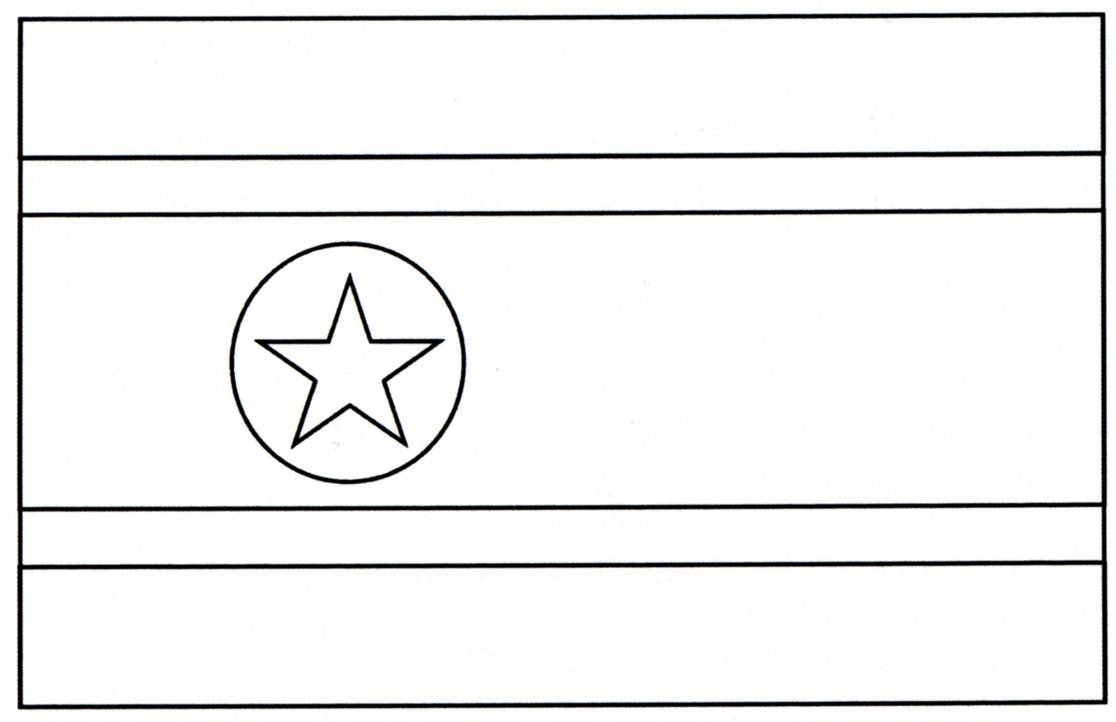 German Flag Coloring Page SomeBody Free Coloring