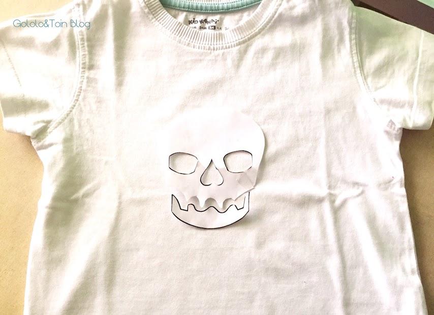 camiseta-diy-manualidad-calavera-ceras-personalizar