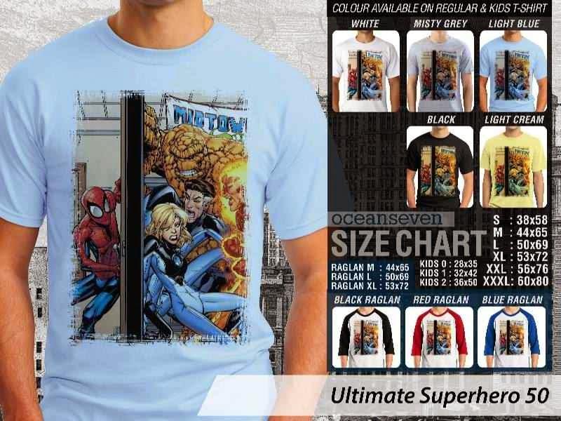 KAOS spiderman 50 Ultimate Superhero distro ocean seven