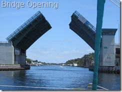 017 Bridge opening on ICW, heading north